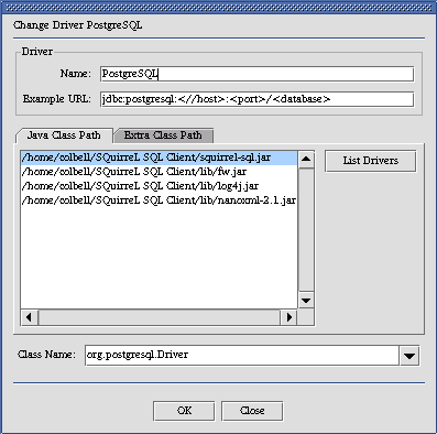 SQuirreL SQL Client Help